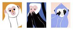 Подумай о белой обезьяне — случай использования образа трех обезьян в культуре