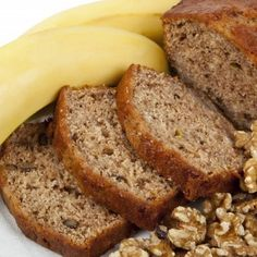 Banana Nut Oat Bread (No Flour or Sugar Added!)