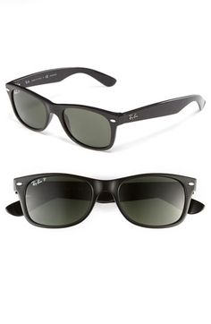 12c9e24cd85b6a Women s Ray-Ban  New Small Wayfarer  Polarized Sunglasses - Black  Polarized