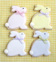 Where to Buy 2015 easter bunny decorated cookies, 2015 easter Bunny Cookie tutorial, 2015 easter dessert inspiration Easter Cupcakes, Easter Cookies, Baby Cookies, Heart Cookies, Valentine Cookies, Birthday Cookies, Christmas Cookies, Iced Cookies, Sugar Cookies