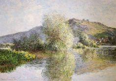 Claude Monet - Little Islands at Port-Villez