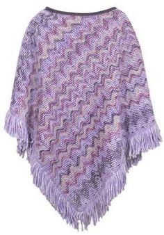 ShopStyle: Missoni Fringed Wool Poncho