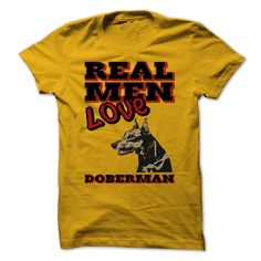 Real Men Love Doberman