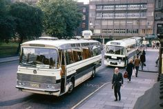 Visit Edinburgh, Edinburgh City, Edinburgh Scotland, Glasgow, Bedford Buses, Service Bus, Old Lorries, Bus Coach, Alphabet Soup