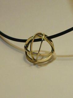 Catseye Gouden hanger Gold pendant