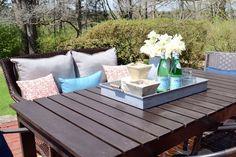 DIY Patio Table   Hometalk