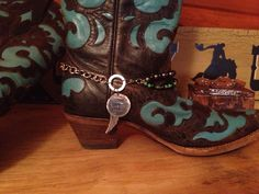 Every Cowboys Dream boot bracelet.