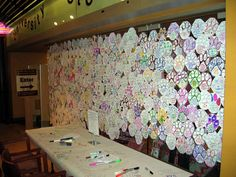 Bloomsburg University Store participated in the 2012 National Student Day. There were over 300 paws hung on the wall that displays students dedication to volunteering!