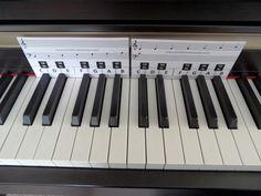 piano key overlays