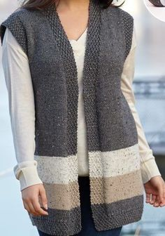 Vest, Knitting, Sweaters, Jackets, Handmade, Recipes, Instagram, Fashion, Nightgown