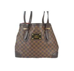 Louis Vuitton Damier Hampstead MM Shoulder Bag
