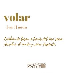 Para ti: ¿Qué significa #volar? . . . . . #travel #traveling #fun #definition #vacation #visiting #instatravel #instago #instagood #trip #holiday #everymoment #travelling #tourism #tourist #instatraveling #diccionarioviajero #diccionarioconsolidada #definicionconsolidada