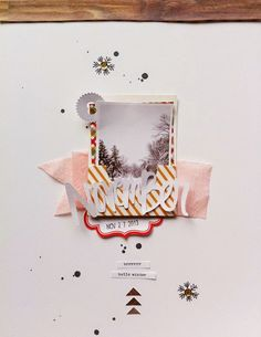 In The Scrap: Me inspiro en... - Por Florencia