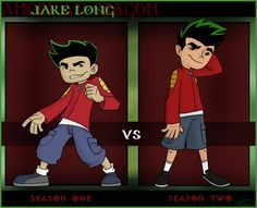 American Dragon: Jake Long (I liked Season better animation) Old Cartoons, Disney Cartoons, Disney Memes, Cartoon Games, Cartoon Shows, Animated Disney Characters, Jake Long, American Dragon, Cartoon Crazy