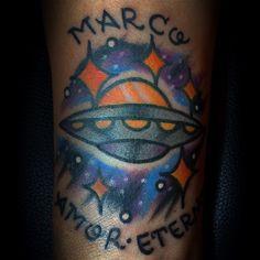 #tattoo #ufotattoo
