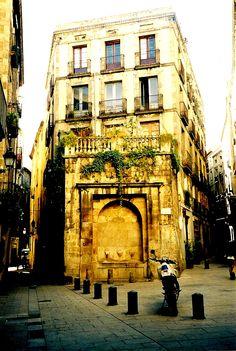 Placa St. Juste - Gothic Quarter - Barcelona - Spain