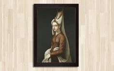 Items similar to The Real Photo of Hürrem Sultan, Hürrem Sultan, Ottoman Empire / Free Shipphing on Etsy Mona Lisa, Awesome, Artwork, Painting, Etsy, Vintage, Work Of Art, Auguste Rodin Artwork, Painting Art
