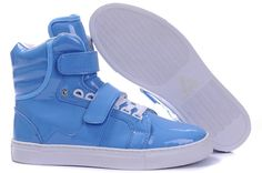 Android Homme Propulsion High Mens Shoes Blue White