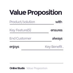 Value Proposition proposition, Business Management, Business Planning, Business Tips, Online Business, Marketing Plan, Sales And Marketing, Business Marketing, Marketing Tools, Business Model Canvas