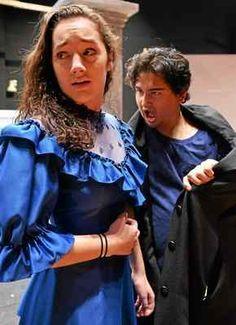 SAHS students prepare to scare in 'Dracula'