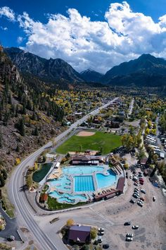 Ouray hot springs travel, road trips in 2019 Vacation Places, Places To Travel, Travel Destinations, Gunnison Colorado, Telluride Colorado, Denver Colorado, Hot Springs Arkansas, Colorado Real Estate, Road Trip Usa