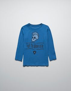 T-SHIRT WITH SKULL - T-shirts - Boy (2-14 years) - Kids - ZARA United States