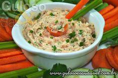 Que tal hj fazer um #lanche leve e diferente? Este Patê de Salmão é perfeito, acompanhado com legumes é super saboroso!  #Receita aqui => http://www.gulosoesaudavel.com.br/2012/11/05/pate-salmao/