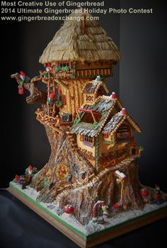 Most Creative use of Gingerbread - 2014 Ultimate Gingerbread Holiday Gingerbread Photo Contest!