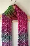 Free Crochet Pattern - No Place Like Home(spun) Scarf from the Scarves ...