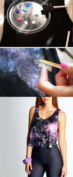 Painted Galaxy T-shirt