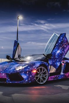 Lamborghini / Best Car Paint Job, Ever. http://blog.auto-selection.com/nos-galeries-photos/galeries-photos-lamborghini/
