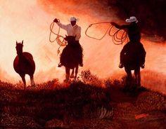 Real cowboys!