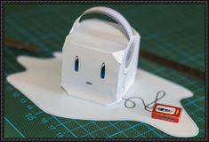 Eiskubus Cube Craft Free Paper Toy Download - http://www.papercraftsquare.com/eiskubus-cube-craft-free-paper-toy-download.html