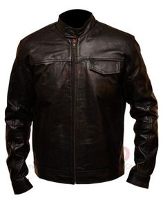 Transformer 3 washed Leather Jackets worn by Shia LaBeouf in the movie Transformers 3. For the style cognizant people and summer flavor wear it's the ideal jacket. This Leather Jacket is made of fine, ultra-soft Sheepskin leather washed crumpled with chocolate brown and black wash.   I