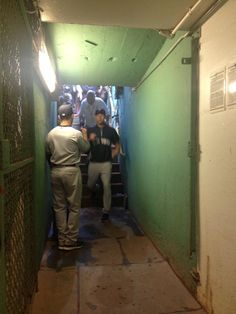 @Yankees  |  #FarewellCaptain  |  The final walk down the tunnel.