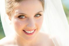 Make Up Bride Bridal Natural Pretty Beautiful Cliffside Floral Wedding http://karibellamy.com/