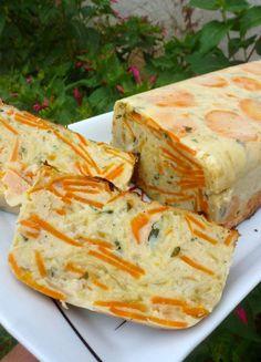 Pain de courgettes et de carottes - Chez Vanda