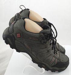 233269b61fa Columbia Mens Waterproof Omni Grip Outdoors Hiking Shoes Sneaker 7.5 M Gray