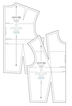 Make your own garments with this free bodice block from Ralph Pink.com