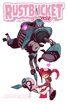 Robots by CreatureBox , via Behance