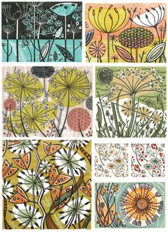 15 Ideas For Nature Inspired Prints Angie Lewin Angie Lewin, Guache, Patterns In Nature, Nature Pattern, Linocut Prints, Botanical Art, Textile Art, Art Lessons, Printmaking