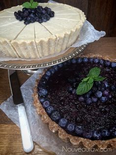 The secret to this pie lays within the blueberry… it is called pectin. And though they are high...