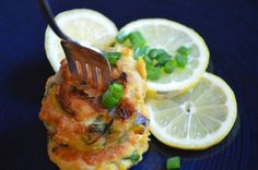 Salmon Scallion Patties {Paleo}