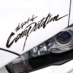 The Spirit of Competition Highlight Vinyl Reflectiv Car Sticker Decal for Mitsubishi EVO ASX Lancer Outlander Pajero Car-Styling♦️ SMS - F A S H I O N  http://www.sms.hr/products/the-spirit-of-competition-highlight-vinyl-reflectiv-car-sticker-decal-for-mitsubishi-evo-asx-lancer-outlander-pajero-car-styling/ US $4.99
