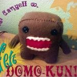 Felt Domo Plushie Pattern by Cut out and Keep