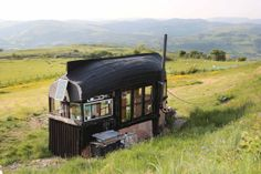 Boat-roofed shed in Machynlleth, Wales in final of Shed of the Year