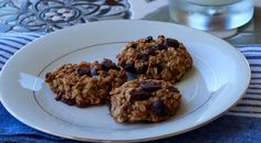 Dark chocolate cranberry healthy cookies