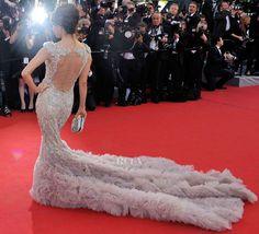 Eva Longoria In Marchesa – 'Moonrise Kingdom' Cannes 2012 Film Festival Premiere & Opening Ceremony