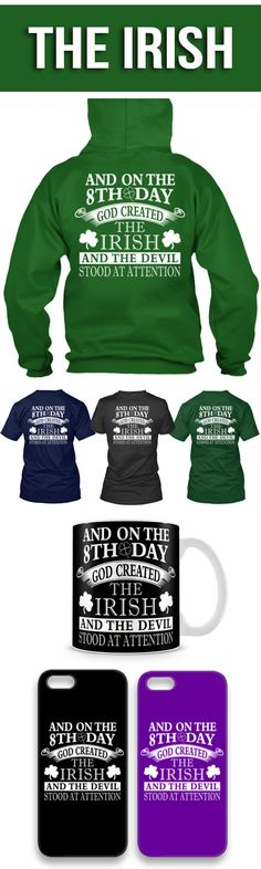 The Irish Shirts! Click The Image To Buy It Now or Tag Someone You Want To Buy This For.  #stpatricksday