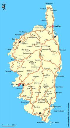 Carte Corse : Plan Corse - Routard.com Travel Around The World, Around The Worlds, Cap Corse, Malta, Photos Voyages, Europe Destinations, City Break, Beach Fun, Mediterranean Sea